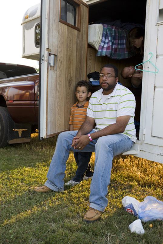 Family at Black Cowboy Rodeo (2008)