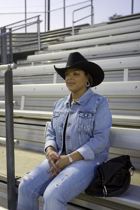 Woman at Black Cowboy Rodeo (2008)