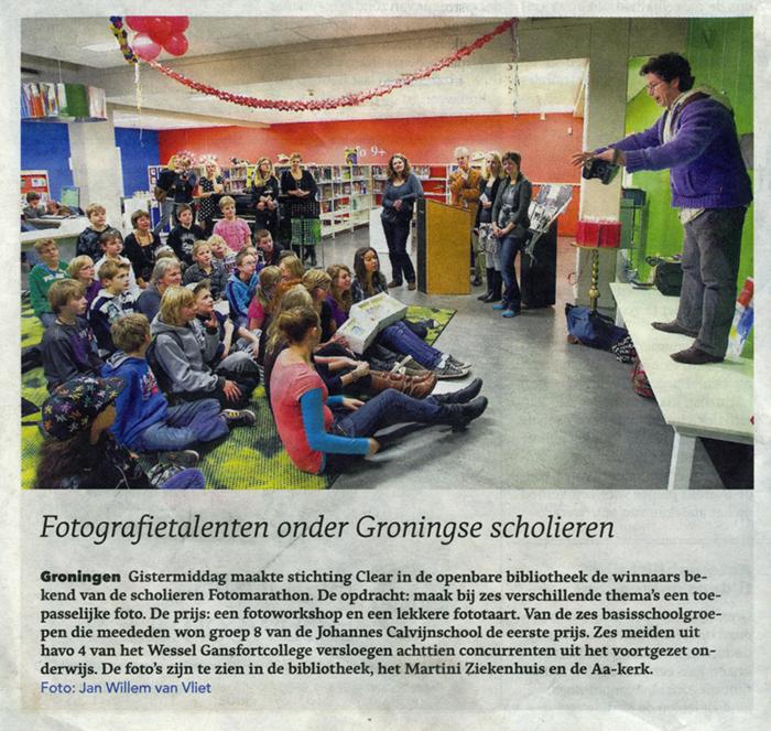 Dagblad van het Noorden (11 november 2010)