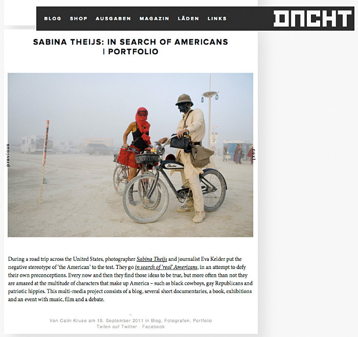 Blog Dienacht Magazine